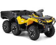 Can Am Outlander ATV 6x6 XT 650 Right Front