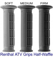 Renthal ATV Grips Half Waffle Soft Medium Firm