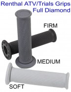 Renthal ATV Trials Grips Full Diamond Soft Medium Firm