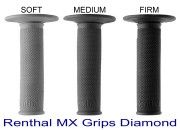 Renthal MX Grips Full Diamond Soft Medium Firm