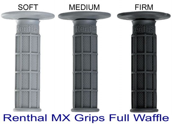 Renthal MX Grips Full Waffle Soft Medium Firm