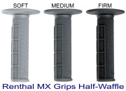 Renthal MX Grips Half Waffle Soft Medium Firm