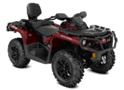 2018 Outlander MAX XT 850 Intense Red 3 4 Front
