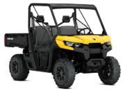2018 Defender DPS HD8 Yellow 3 4 Front