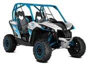 Can Am Marlborought Trials Blenheim Maverick X Ds Turbo Ssv Atv Front Hyper Silver Octane Blue