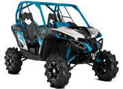 Can Am Marlborought Trials Blenheim Maverick X Mr Ssv Atv Front Hyper Silver Black Octane Blue