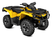 Can Am Marlborought Trials Blenheim Outlander XT Yellow