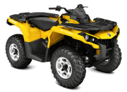 Can Am Marlborought Trials Blenheim Outlander Dps Front Yellow
