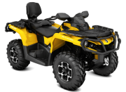 Can Am Marlborought Trials Blenheim Outlander Max Front Yellow