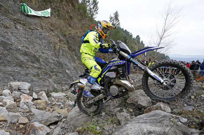 Mario Roman And Wade Young On The Podium At Alestrem Xtreme Enduro 2