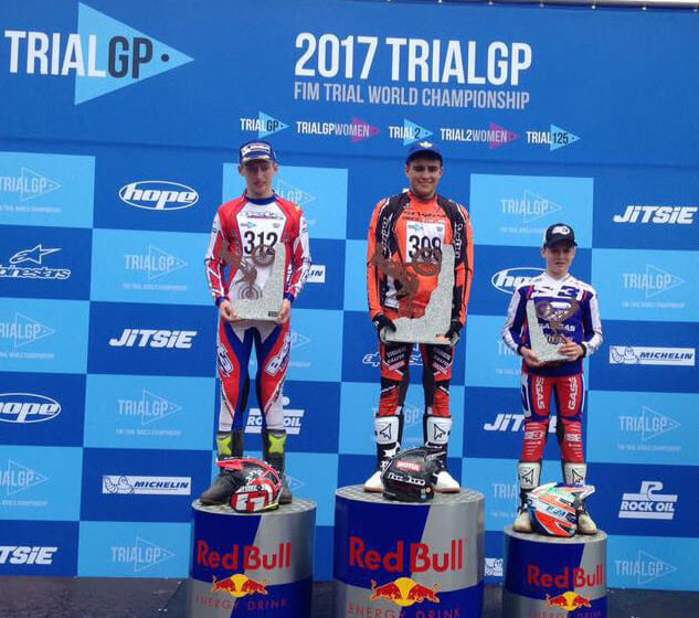 Lorenzo Gandola wins the first Trial GP in the 125 category 1