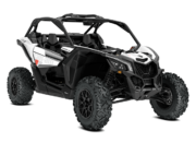 2018 Maverick X3 TURBO R White 3 4 Front
